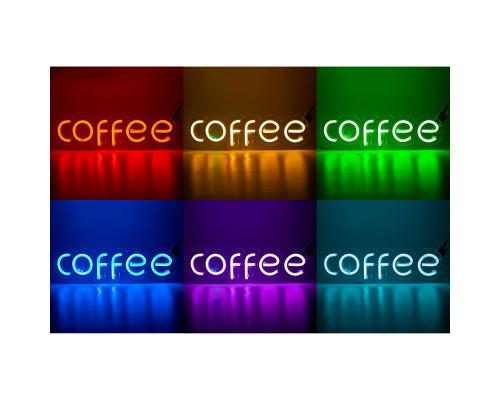 """Неоновая вывеска """"COFFEE"""" RGB (с контроллером)"""