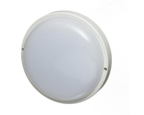 Светильник накладной ЖКХ 8Вт 6000К круглый IP65
