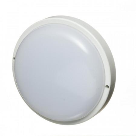 Купить Светильник накладной ЖКХ 12Вт 6000К круглый IP65