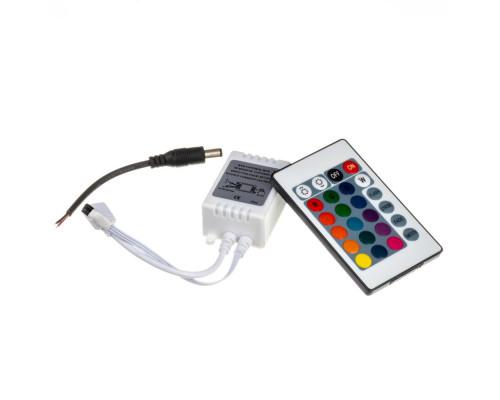 Led контроллер светодиодный rgb 12А/144 Вт (IR 24 кнопки)