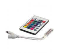 Led контроллер mini светодиодный rgb 6А/72 Вт (IR 24 кнопки)