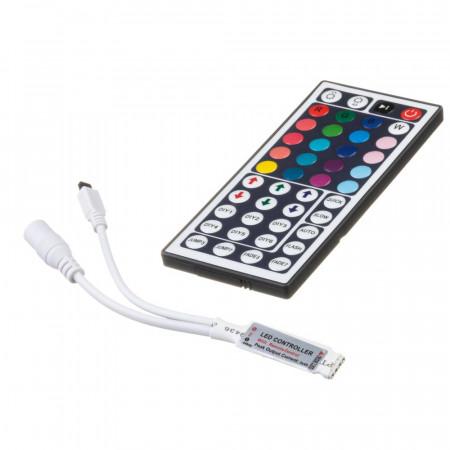 Купить Led контроллер mini светодиодный rgb 6А/72 Вт (IR 44 кнопки)
