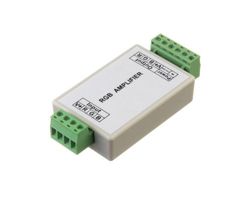 Led усилитель светодиодный rgb 12А/144 Вт (корпус пластик)