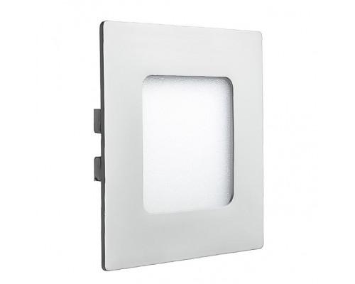 Светильник точечный врезной 3Вт 4000К квадрат IP20