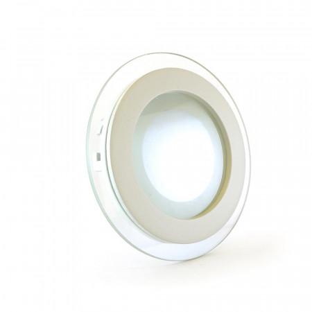 Купить Светильник точечный со стеклом 6Вт 4000К круг IP20