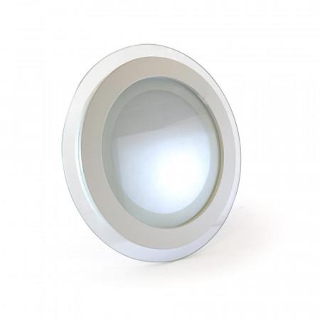 Купить Светильник точечный со стеклом 12Вт 4000К круг IP20