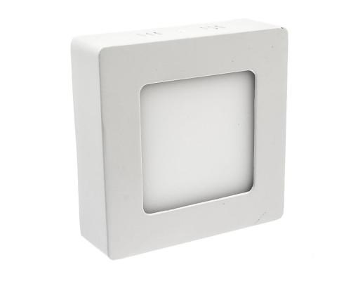 Светильник настенно-потолочный 6Вт 4000К квадрат IP20