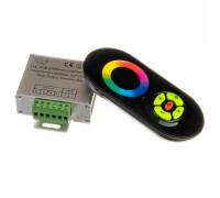 Led контроллер светодиодный черный rgb 18А/216 Вт