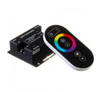 RGB контроллер светодиодный черный 18А/12Вт (RR 6 кнопок)