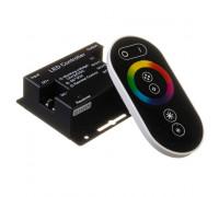 RGB контроллер светодиодный черный 24А/12Вт (RR 6 кнопок)