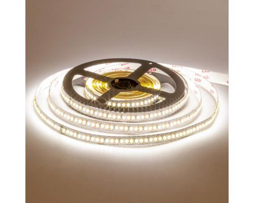 Лента светодиодная 12V AVT теплая белая smd3014 204LED/m IP20, 1м