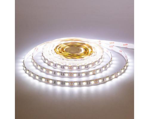 Лента светодиодная белая 12V AVT smd5050 60LED/m IP65, 1м