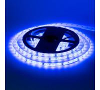 Лента светодиодная синяя 12V smd2835 60LED/m IP20, 1м
