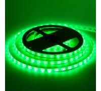 Лента светодиодная зеленая 12V smd2835 60LED/m IP20, 1м
