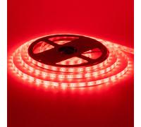 Лента светодиодная красная 12V smd2835 60LED/m IP65, 1м