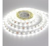 Лента светодиодная белая 12V STANDART smd2835 60LED/m IP20, 1м
