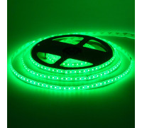 Лента светодиодная зеленая 12V smd2835 120LED/m IP65, 1м