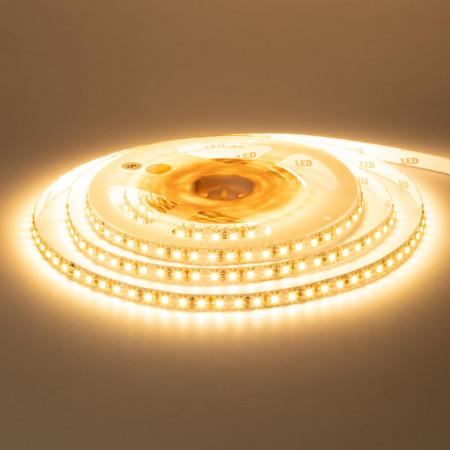 Купить Лента светодиодная теплая белая 12V MOTOKO smd2835 120LED/m IP20, 1м