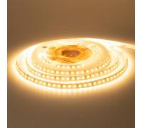 Светодиодная лента 12В белая теплая 120led/m Motoko smd3528 IP65, 1м