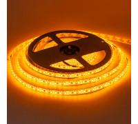 Лента светодиодная желтая 12V smd2835 120LED/m IP65, 1м