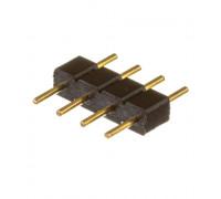 Коннектор для лед лент RGB 12V 10mm папа/4 pin