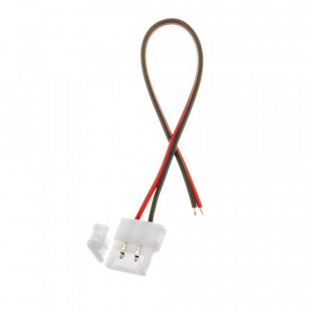 Купить Коннектор для лед лент 12V 10mm провод/зажим