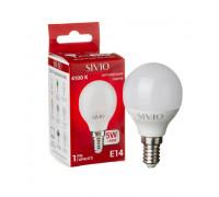 Лампа светодиодная нейтральная белая 5W E14 4100K