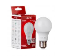 Лампа светодиодная нейтральная белая 10W E27 4100K
