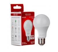 Лампа светодиодная нейтральная белая 12W E27 4100K