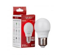 Лампа светодиодная G45 нейтральная белая 10W E27 4100K