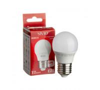 Лампа светодиодная теплая белая 5W E27 3000K