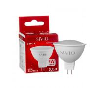 Лампа светодиодная теплая белая 5W GU5.3 3000K