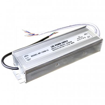 Купить Led блок питания 12V F/12.5A 150Bт IP 65