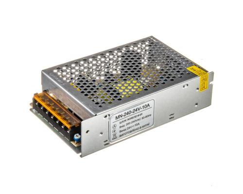 Led блок питания 24V MN/10A 250Bт IP 20