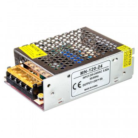 Купить Led блок питания 24V MN/5A 120Bт IP 20