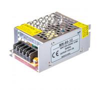 Led блок питания 12V MN/5A 60Bт IP 20