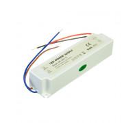Led блок питания 12V SLIM PLASTIC/5A 60Bт IP 65