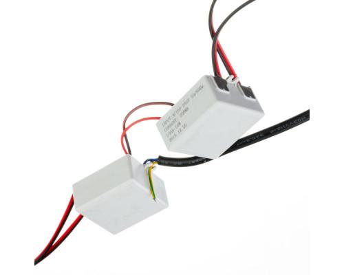 Драйвер 2х50W для светодиодного прожектора (3000мА) 110В
