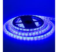 Лента светодиодная синяя 12V smd5050 60LED/m IP65, 1м