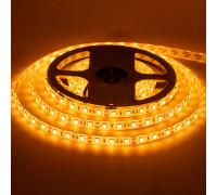 Лента светодиодная желтая 12V smd5050 60LED/m IP20, 1м
