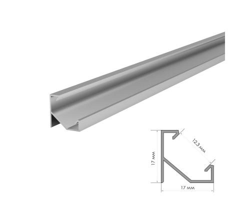 Профиль светодиодный накладной угловой ПФ-20, 2m