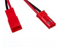 Комплект коннекторов для лед лент папа+мама 12V 2pin красный
