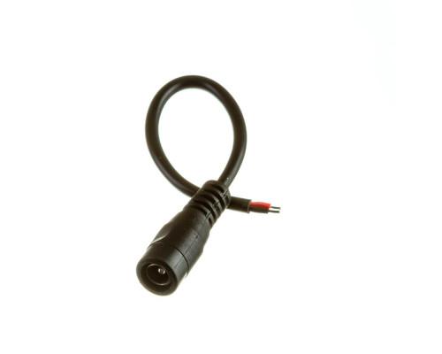 Коннектор для лед лент 12V mini jack 5,5mm мама с проводом
