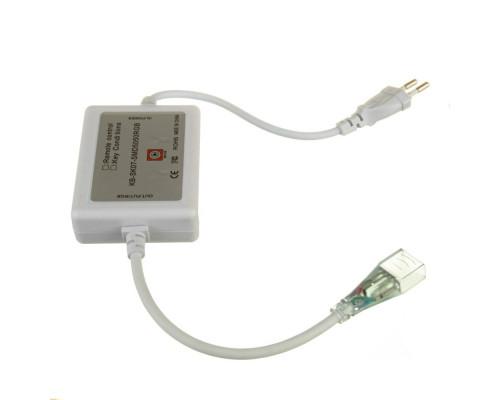 Адаптер питания для ленты светодиодной 220V RGB AVT smd 5050-60 led/м + контроллер + коннектор 4pin