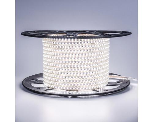 Лента светодиодная белая 220V AVT smd2835 120LED/m 4W/m IP65, 1м