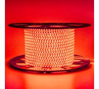Лента светодиодная красная 220V AVT smd2835 120LED/m 4W/m IP65, 1м