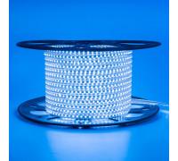 Лента светодиодная синяя 220V AVT smd2835 120LED/m 4W/m IP65, 1м