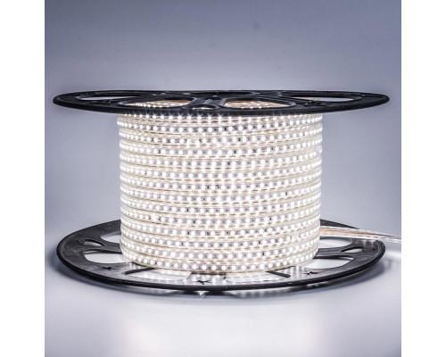 Лента светодиодная белая 220V smd2835 120LED/m 12W/m IP65, 1м
