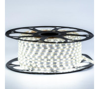 Лента светодиодная нейтральная белая 220V smd3014 120LED/m 5,5W/m IP65, 1м