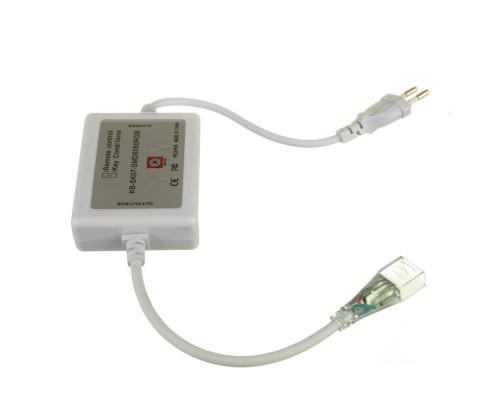 Адаптер питания для ленты светодиодной 220V RGB AVT smd 5050-72 led/м + контроллер + коннектор 4pin